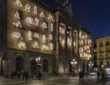Instalación «Abrazos #RavalKm0» (Barcelona)