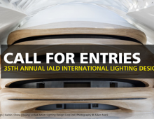 Abierta la convocatoria para los IALD Lighting Design Awards