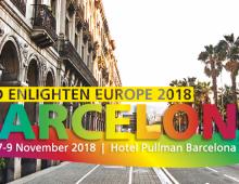 Convocatoria de conferencias para Enlighten Europe y Americas 2018