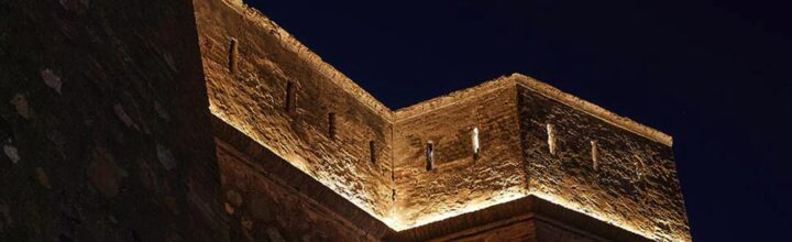 Castillo de Villaricos (Almería) | DCI Lighting Design